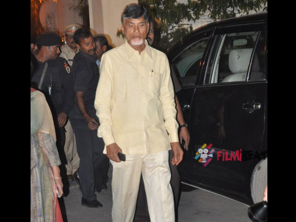 In Pics: Chief Minister Chandra Babu Naidu