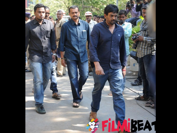 In Pics: Director Puri Jaganaadh Attending The Funeral