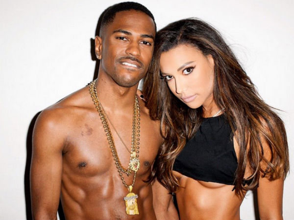 Big Sean and Naya Rivera