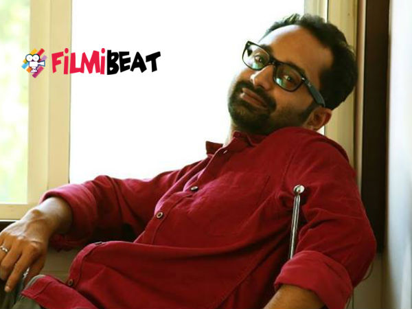 Fahadh Faasil (One By Two, Iyobinte Pusthakam)