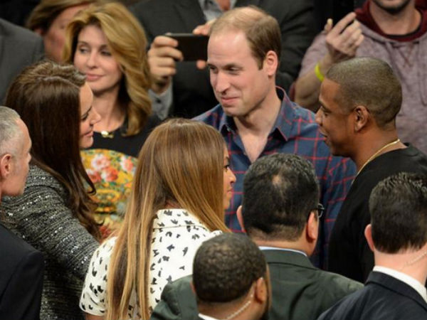 Kate Middleton & Prince William Meet Beyonce & Jay Z