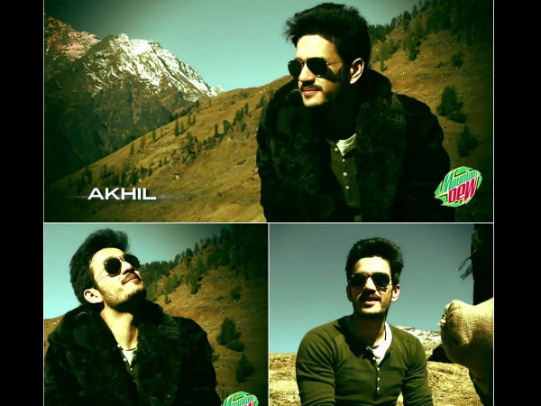 Akhil Akkineni Is Sky-High!