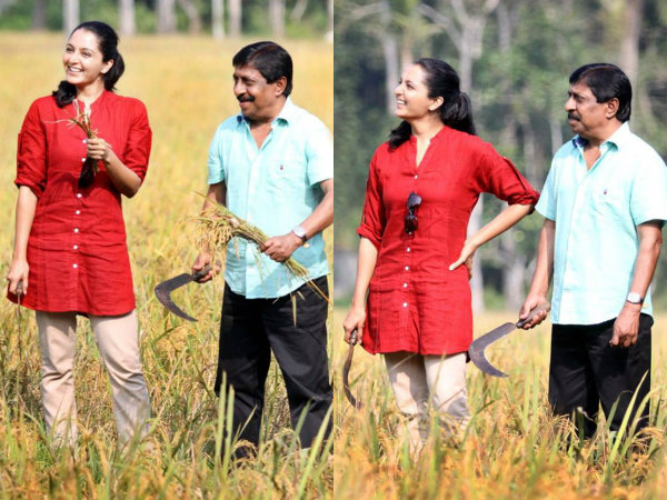 Manju Warrier Initiates Harvest!