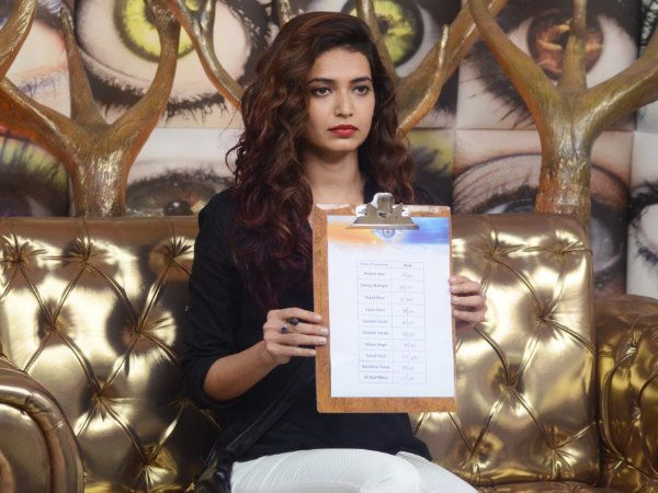 Bigg Boss 8's Karishma Tanna Asked To Rate Contestants