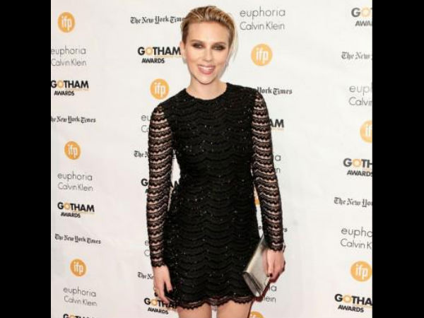 Scarlett Johansson Reveals How She Got Back To Shape After Pregnancy