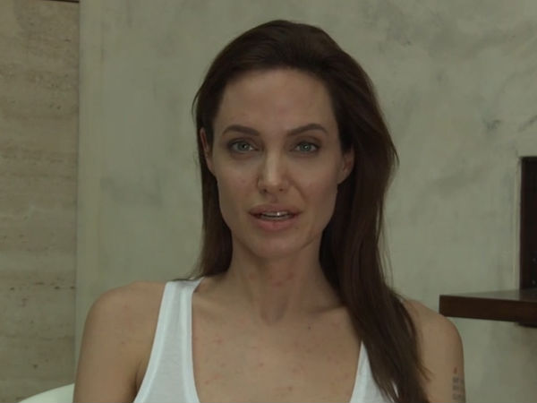 Angelina Jolie Tells In Video Clip: I Have Chicken Pox!
