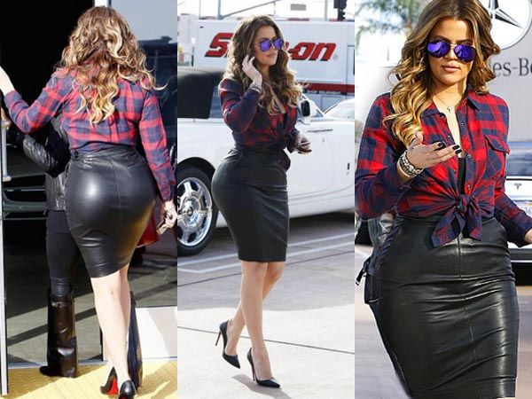 Khloe Kardashian Butt Pics