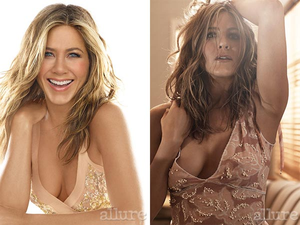 Jennifer Aniston Shows Her Sensuous Side For Allure