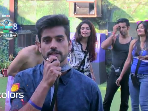 LOL: Gautam Gulati Was Asked To Lick Cake Off Ali's Face In Bigg Boss 8!