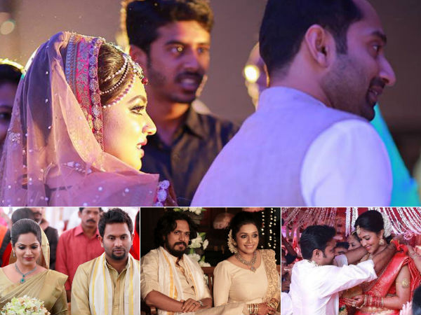 Celebrity Weddings Malayalam Cinema 2017 Fahadh Faasil Nazriya M Wedding Amala Paul Vijay Marriage Filmibeat