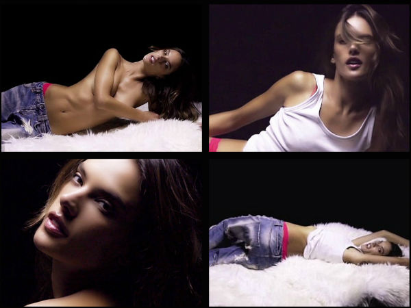 Alessandra Ambrosio's Seductive Video For Love Advent Calendar