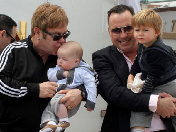 Elton John & David Furnish To Marry This Sunday In England