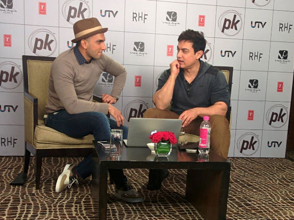 Aamir Khan Wants To Direct Ranveer Singh