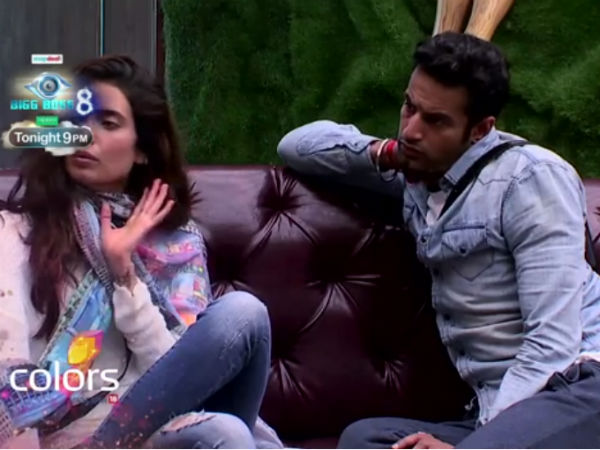 Upen And Karishma Oppose