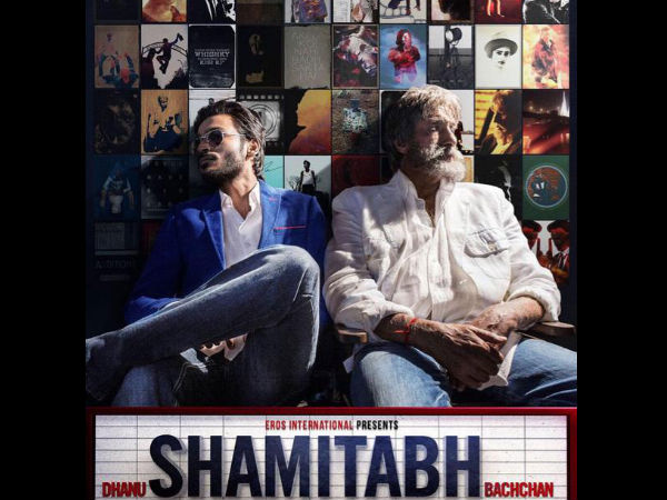 Check Brand New Poster Of Dhanu 'Shamitabh' Bachchan!