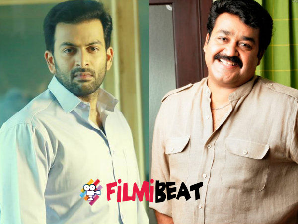Mohanlal And Prithviraj In Priyadarshan's Political Thriller!
