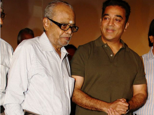 No Kamal Haasan In Balachander's Funeral