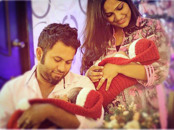 Aju Varghese's Christmas With Evan And Juana