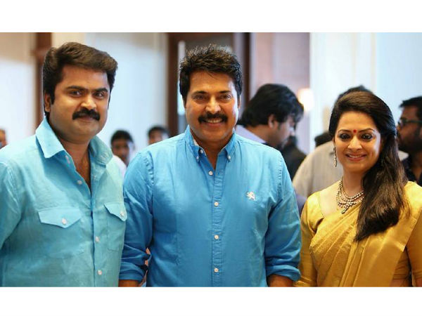 Mammootty With Anoop And Shema