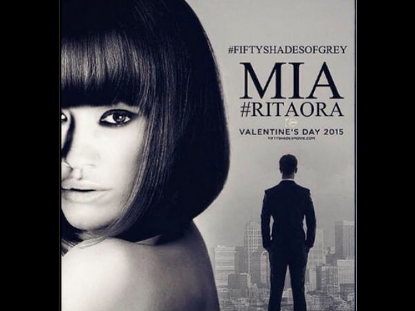New Pic Of Rita Ora As 'Mia' In Fifty Shades of Grey