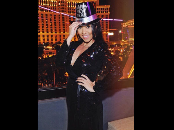 Kourtney Kardashian Wishes Happy New Year!