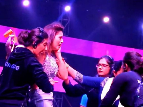 Gauhar Khan's Slap-Accused Claims Was Paid To Slap Her!