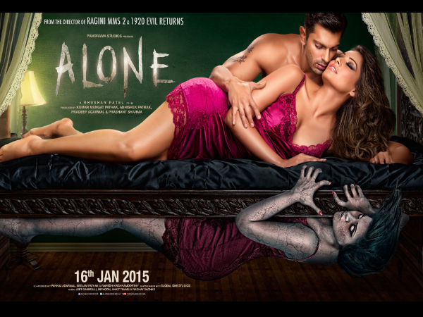 Alone ( 2015) Hindi Movie 350MB DVD Download and Online Free Full