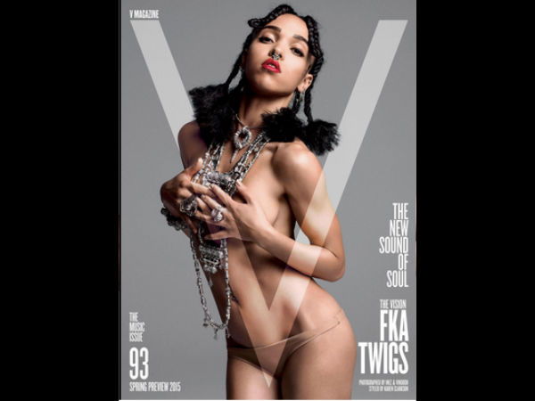 FKA Twigs Poses Topless
