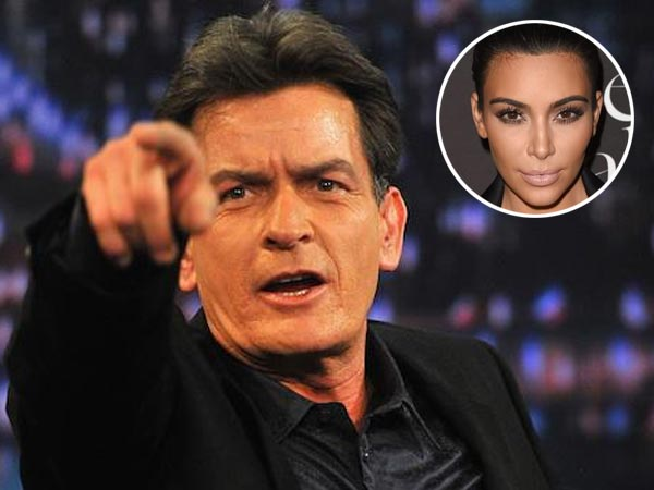Charlie Sheen's Apologizes To Kim Kardashian After Twitter Rant