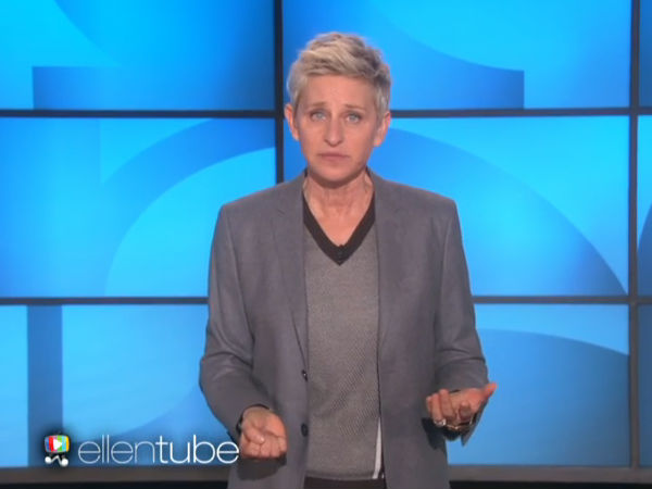 The Ellen Show's 1st Episode of 2015: What Ellen Did On Holidays?