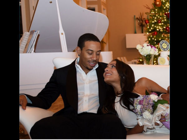 Ludacris Marries Eudoxie Mbouguiengue Hours After Proposing