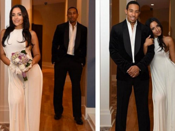 Ludacris Marries Eudoxie Mbouguiengue