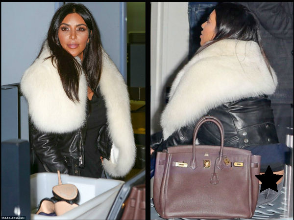 Oops! Kim Kardashian Flashes Derriere At LA Airport