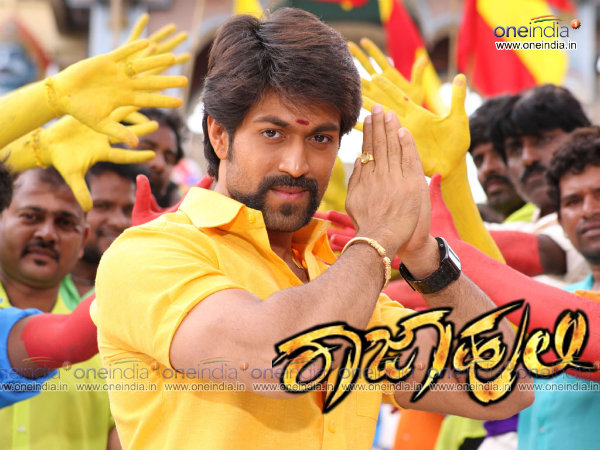 In Pics: Yash In Rajahuli