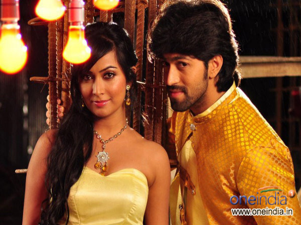 In Pics: Yash And Radhika Pandit In Drama