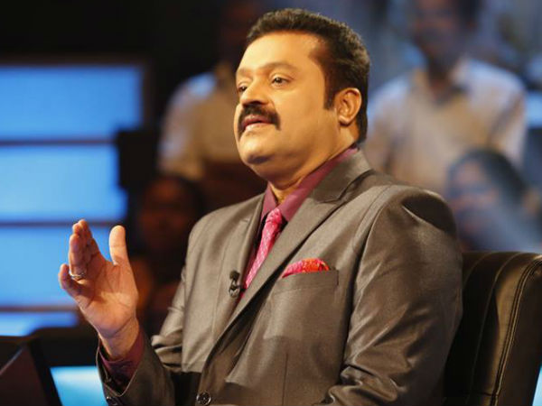 My Role In 'I' Is A Surprise: Suresh Gopi