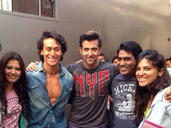 Hrithik Roshan Finds A New Fan In Tiger Shroff