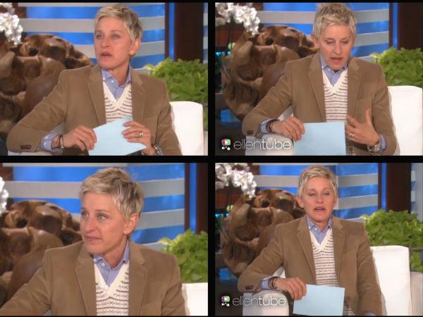 Ellen degeneres ellen show selma cast ellen show oprah winfrey ellen show filmibeat - Ellen show address ...