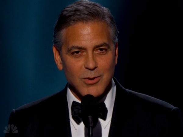 Golden Globes 2015 George Clooney