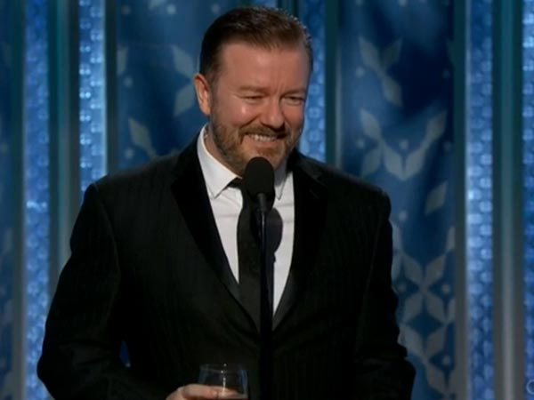 Finally, Ricky Gervais