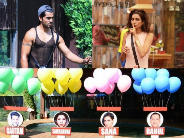 Awww! Karishma Tanna Refused To Nominate Gautam Gulati On Bigg Boss 8 Halla Bol!