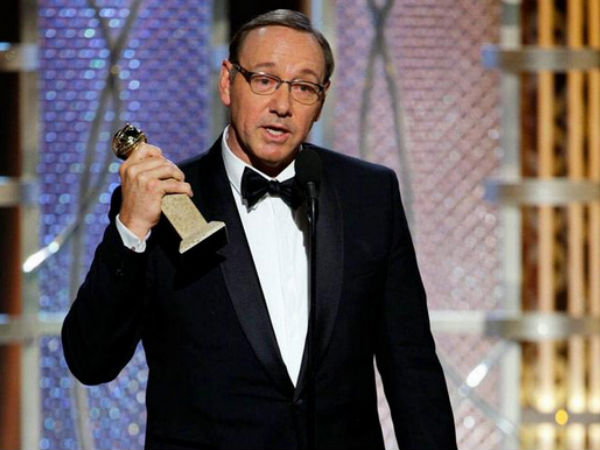 Kevin Spacey Golden Globes