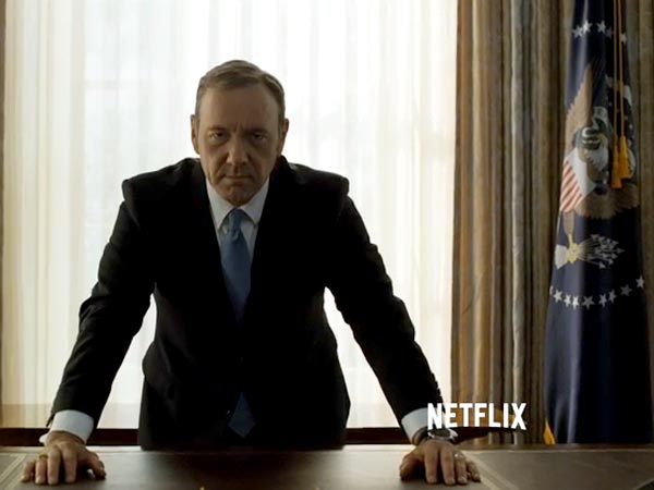 Golden Globe Winner Kevin Spacey Back With 'House of Cards' Season 3