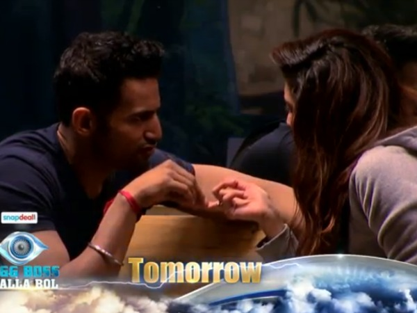 OMG! Did Upen Patel Mean His Proposal To Karishma Tanna On Bigg Boss 8?