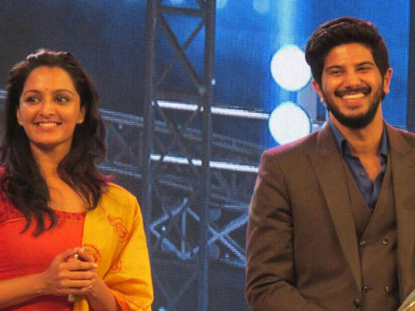 Dulquer With Manju
