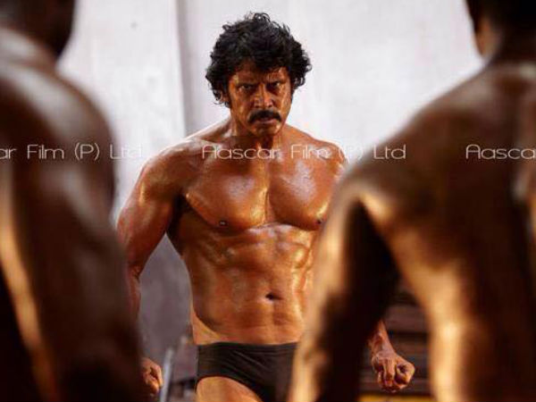 Vikram as Mr. Tamilnadu