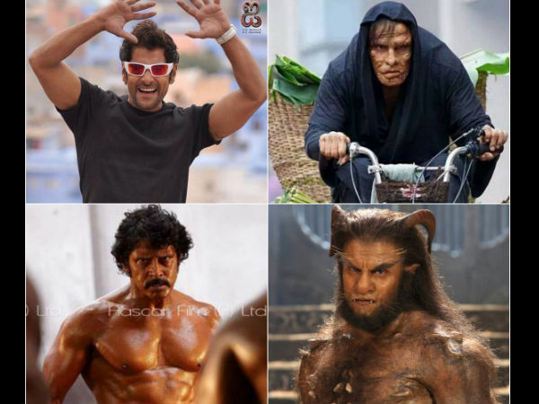 Vikram's different avatars