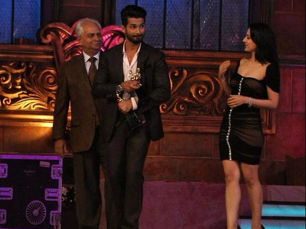 Shahid Getting Awards