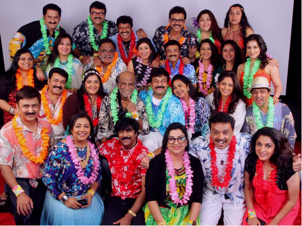 Rajinikanth, Chiranjeevi, Mohanlal And Many Other Stars Plan A Grand Party!