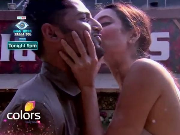 Bigg Boss 8: Upen Demands A Kiss From Karishma, Threatens To Leave If Not!